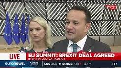 Der irische Premierminister Leo Varadkar zum Durchbruch in den Brexit-Verhandlungen