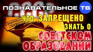 Что запрещено знать о советском высшем образовании (Познавательное ТВ, Андрей Помялов)