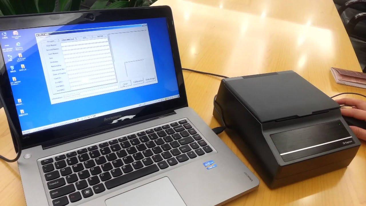 IDC-V:Passport scanner,ID card reader High resolution passport reader by  Shenzhen Syscan Technology Co , Ltd