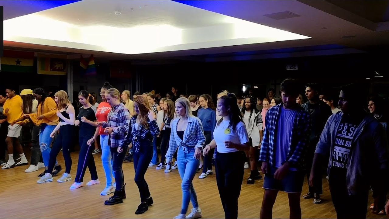 Barn With Us - School & College Line Dancing