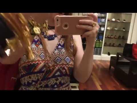 Banana republic store walk-through With Rebecca J Ray