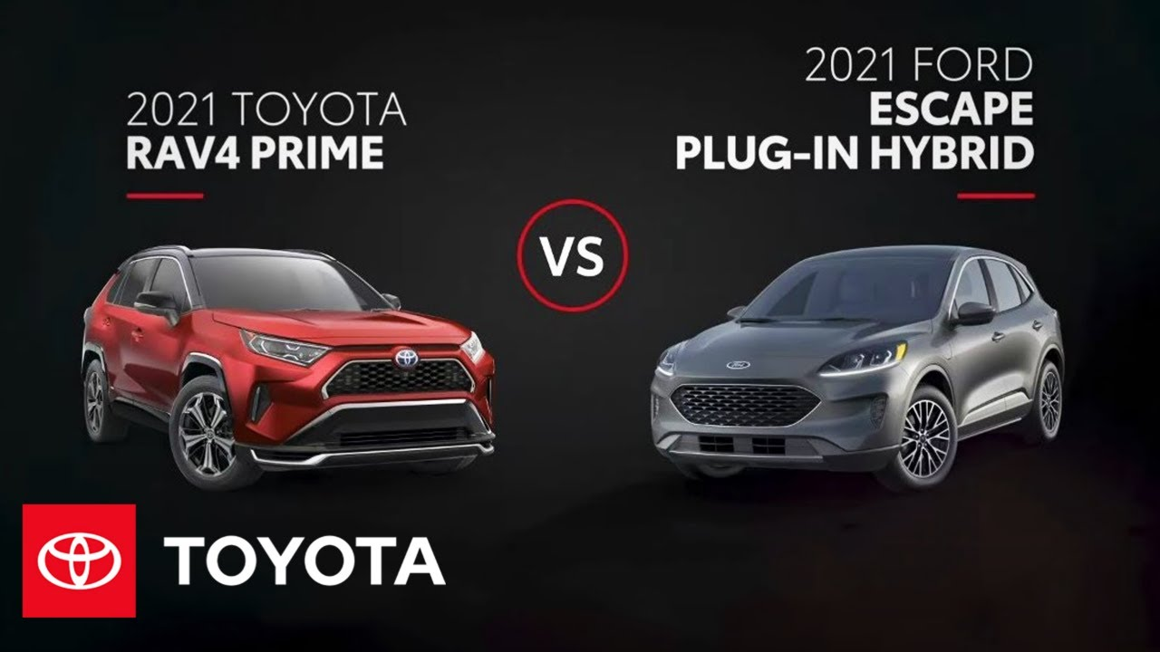 2021 Toyota RAV4 Prime vs. Ford Escape Hybrid | All You Need to Know | Toyota
