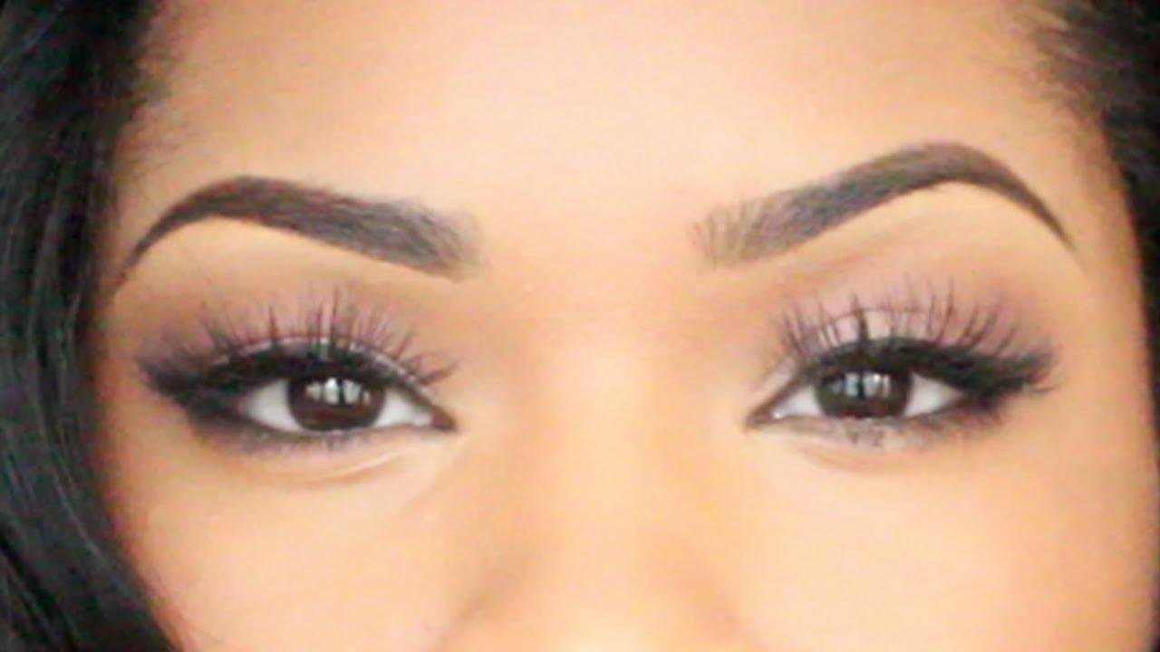 Eyebrow Tutorial (Updated) | MAKEUP - YouTube