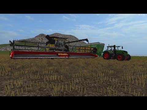 fs17 farming legends timelapse #10 low yield soybean harvest