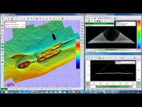 QINSy Wreck Survey Brest