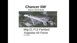 Mig 21 F13 Yugoslav Air Force Build Vid