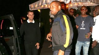 EXCLUSIVE - Will Smith Loses Wife Jada After Partying At Chateau Marmont