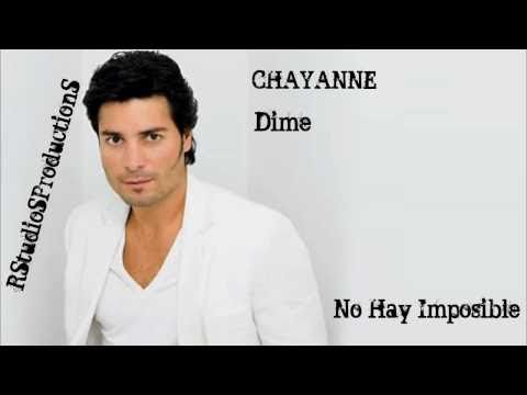 (+) Chayanne - Dime