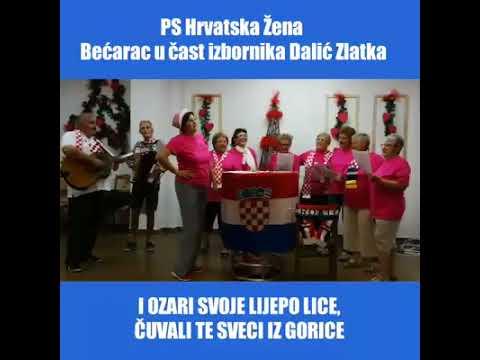 PS Hrvatska Žena: Evo jedna kratka, ali slatka, iz mog srca, za Dalić Zlatka