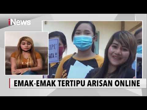 Tertipu Arisan Online, Kumpulan Emak-emak Berunjuk Rasa Minta Pengembalian Uang - INews Sore 29/06