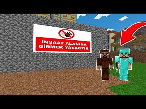 ZENGİN ŞEHRE OYUN PARKI YAPTIRIYOR! 😱 - Minecraft