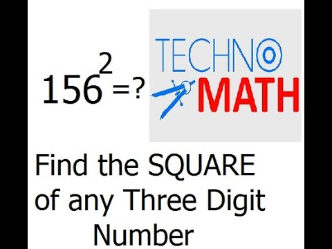 Shortcut Mathematics Tips and Tricks | Find Square of a Three Digit Number