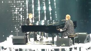 X Factor Final Results - Gary Barlow & Elton John - Face To Face