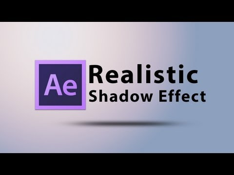 Create a Realistic Shadow Text Effect Intro in After Effects CS6