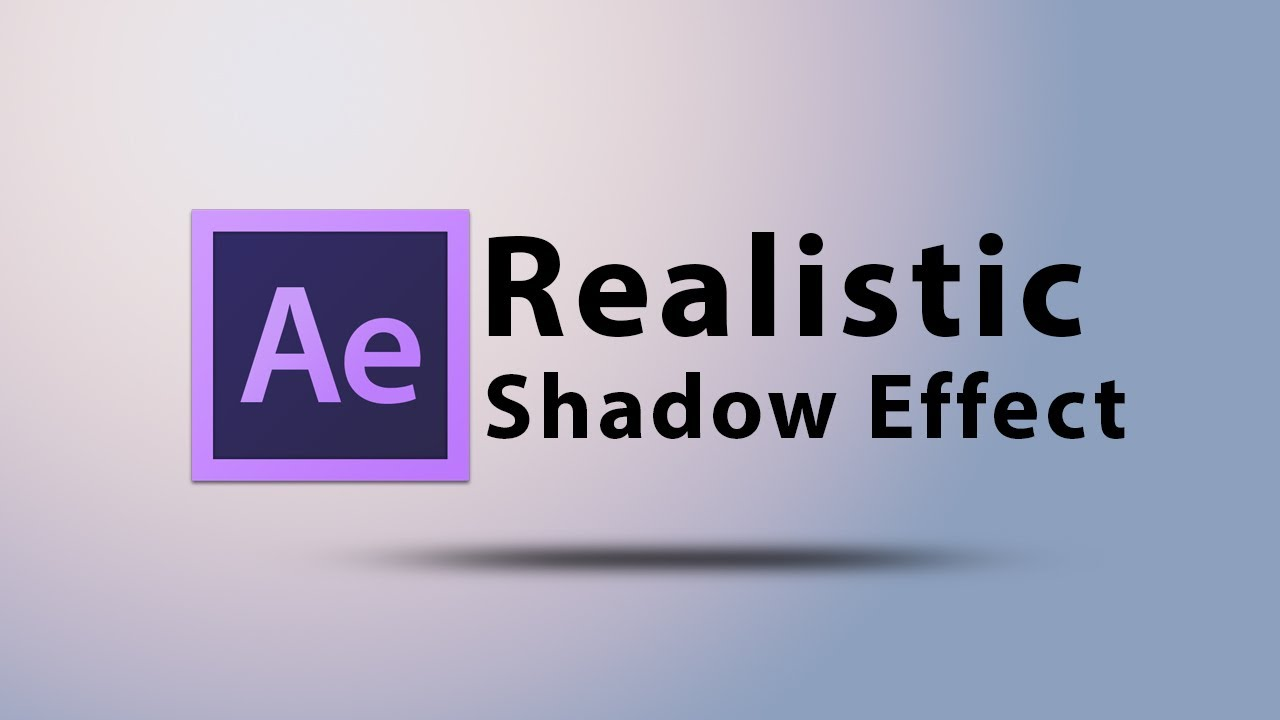 How to Add the Drop Shadow Effect to Text and Images in AE?