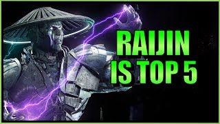 SonicFox -  Raijin Raiden Is Top 5【Mortal Kombat 11】
