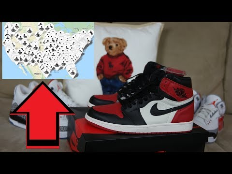 JORDAN 1 BRED TOE EASY COP??? WILL THEY SIT??