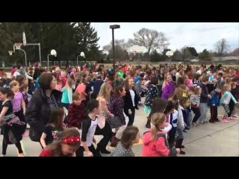 3-16-16 Sawtooth Elementary School Dance Party