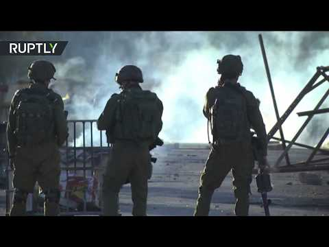 RAW: New scuffles erupt after Israelis return to Palestinian Qusra