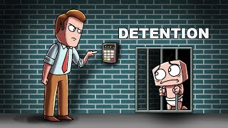 Minecraft | WHO'S YOUR DADDY? Baby Goes to DETENTION!