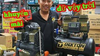🔴 Máy bơm hơi DEKTON DK2090, DK662 giảm giá quá kinh khủng |Máy Xây Dựng Hồng Nhiên