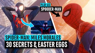 Spider-Man: Miles Morales | 30 Easter Eggs and Secrets (PS4/PS5)