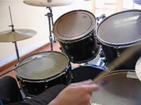 No Neck Louie -Frank Gambale-drum cover