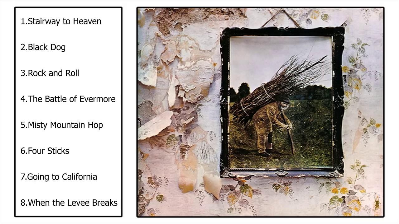 Led Zeppelin Iv Full Album 1971 Youtube