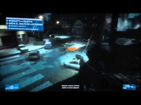 Battlefield 3 Final Mision Turno de Noche Al Bashir Rueda del Coche