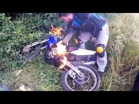 Crazy & Hectic Dirtbike Crashes & Fails 2017