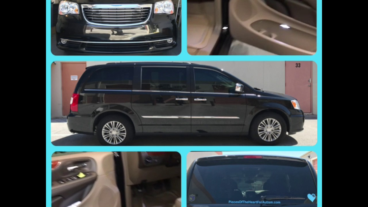 2017 Chrysler Town And Country Van With Llumar Ctx Ceramic Window Tint