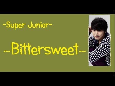 Super Junior - Bittersweet [English Sub]