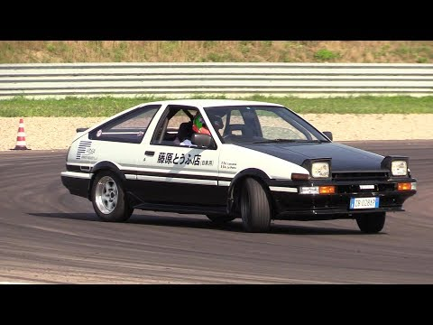 Toyota AE86 Sprinter Trueno - Drifting, Pure Sound & On Board