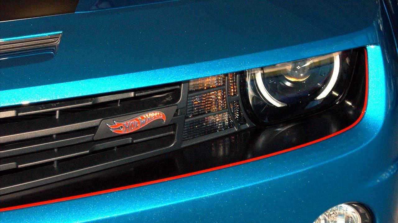 2013 Camaro Hot Wheels Special Edition - YouTube