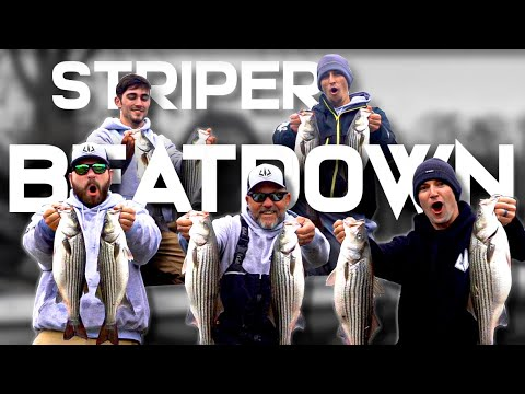 Striper Fishing NC | We Caught OVER 100 FISH In One Trip!