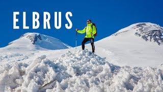 ЭЛЬБРУС (тизер), новый сезон видео! Самостоятельное восхождение и забег на вершину.