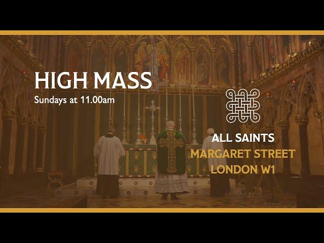 High Mass for Trinity 20