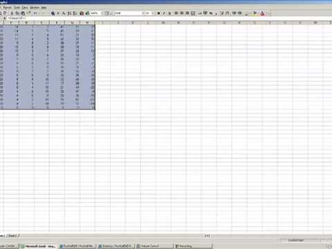 Sports Handicapping using Microsoft Excel