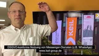DSGVO konforme Nutzung Messenger Dienste z B  WhatsApp
