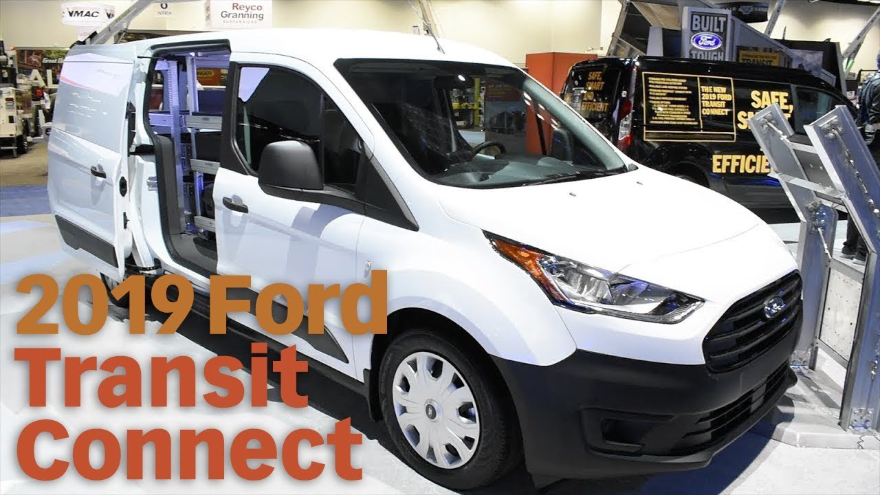 2019 Ford Transit Connect Cargo Van S New Features