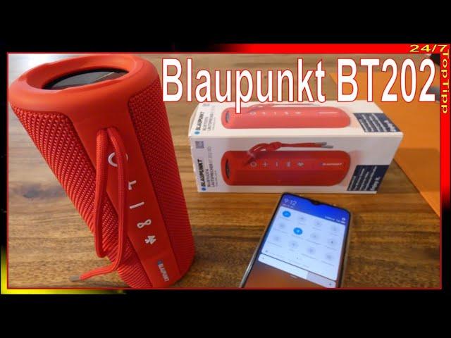 ALDI Angebot ✓ Bluetooth Lautsprecher Blaupunkt BT7 [ Unboxing