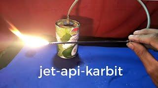 Cara membuat las karbit mini dari bahan seadanya