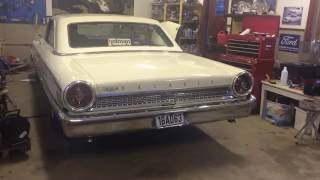 Ford Galaxie 1963 1/2 390 Z-Code -  First start after renovation.