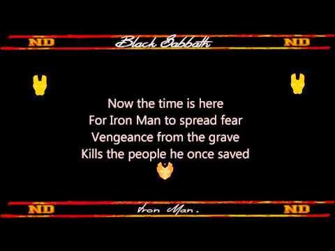 Iron Man Black Sabbath Lyrics