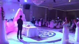Шикарный выход невесты