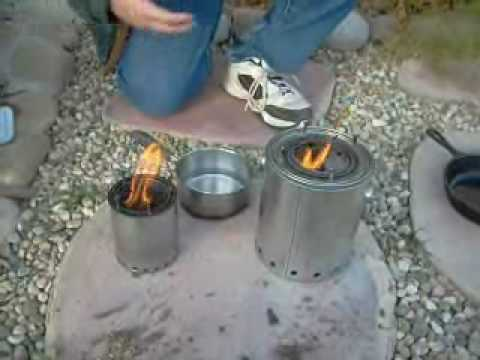 The Gasifier Camp Stove Youtube