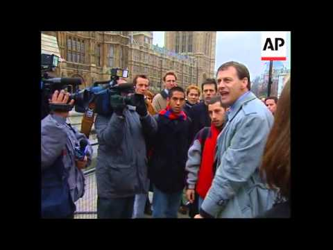 Uk London Augusto Pinochet Tribunal Latest Youtube