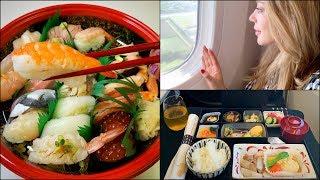 Vlog Japan🎌 * Влог из самолета* Цены в Дьюти Фри💄 & Японская кухня🍱