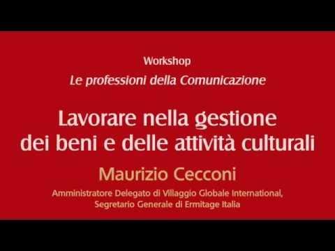 Lavorare nella gestione dei beni e delle attività culturali - YouTube 47abf142503b