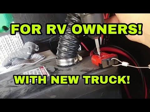 Easy RV Upgrades installed.  DIY stuff